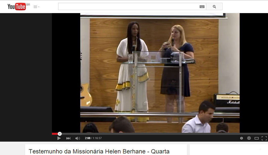 Helen Berhane - Testemunho