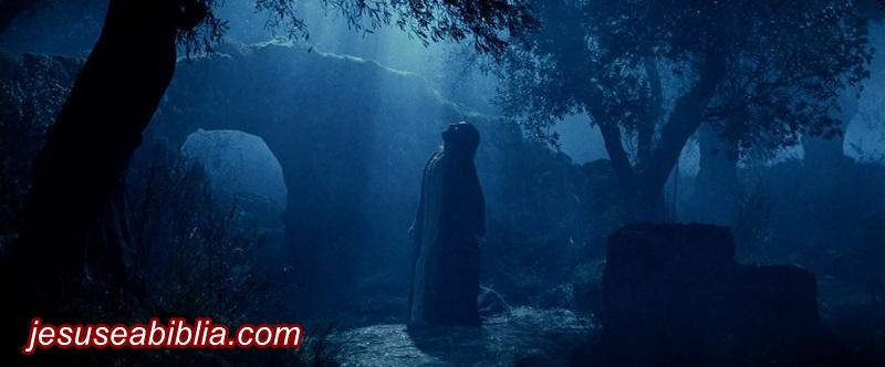 Oração o Primeiro Passo de Jesus no Getsêmani